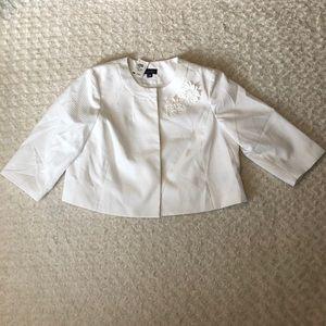 Isabella Suits Open Front Blazer Jacket 22W